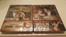 Moulin Rouge & Romeo & Juliet STEELBOOK Blufans Exclusive (Blu-ray, China) #206