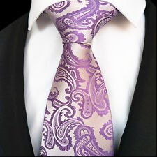 New Classic WOVEN JACQUARD Silk Men Suits Tie Necktie Father Gift