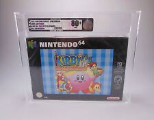Nintendo 64-n64 - 64 Kirby THE CRYSTAL SHARDS-in VGA 80+