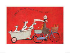Sam Toft (Don't Dilly Dally on the Way) Art Prints  PPR51130  60 x 80cm