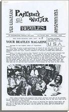 Beatles Paperback Writer Fanzine - Issue #8, June/July, 1978