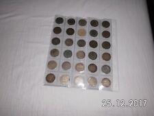 *** 30 Wertvolles Silber Münzen ( 900 Silber) DEUTSCHES  REICH ***
