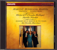 Heinz HOLLIGER: Frank MARTIN HONEGGER MARTINU Oboe Concerto CD Nicolet Marriner