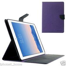 For Apple iPad Air 2 Genuine MERCURY Goospery Fancy Diary Folio Flip Case Cover