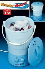 Wonder Washer Portable Washing Machine Travel  Mini Laundry Dorm ,RV,Camping  TV