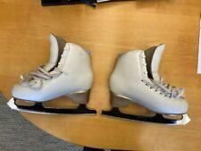 "New listing Edea Overture 240 Figure Skates pre-owned w/ Mk Professional Blade 9"""