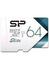 SP 64GB Micro SD  XC I Elite Card and Adapter