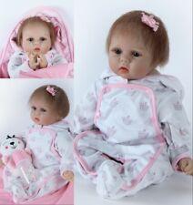 """22""""Reborn Baby Doll Bambole Sale Lifelike Silicone Bambole Rinascere Toy Gift"""