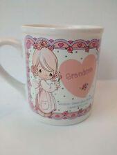 Vintage precious moments grandma coffee mug cup Enesco