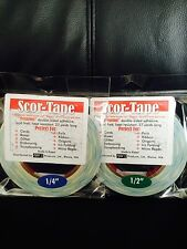 "PACK OF FUN! X2  Scor-Tape Adhesive - 2 each 1/4"" and 2 1/2"" Scor-Pal  FREE SHIP"