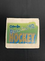 1992 O-PEE-CHEE PREMIER HOCKEY NHL 1-198 COMPLETE SET FREE SHIPPING
