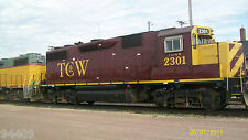 ATLAS GP39-2 TWIN CITIES & WESTERN DC/NO sound TCW tcwr 2300  silver