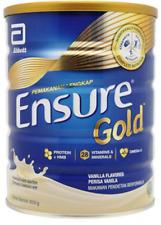 2 Tins Abbott Ensure Gold Complete Nutrition Milk Powder Vanilla Flavor 850g + (