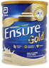4 Tins Abbott Ensure Gold Complete Nutrition Milk Powder Vanilla Flavor 850g + (