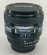 Nikon NIKKOR f/1.8D Auto Focus Fixed Lens for SLR Cameras