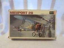 Revell 1/72 Nieuport 28 H-653 1966  classic kit