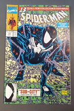 Spiderman comic book - Sub-City, Black Knight, Vol. 1, #13, August 1991, mint