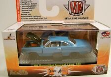 `69 Plymouth Road Runner 440 6-Pack BLUE 1969** M2 Machines BOX 1:64 RAR+OVP