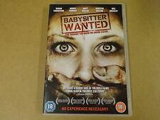 DVD / BABYSITTER WANTED ( SARAH THOMPSON, BRUCE THOMAS, MATT DALLAS... )