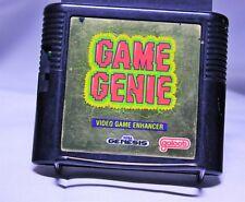Game Genie For Sega Genesis Gold Label Accessory Cheat Device Galoob
