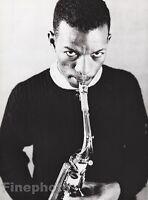 1959/87 Vintage 16x20 ORNETTE COLEMAN Jazz Music Saxophonist Art WILLIAM CLAXTON