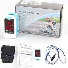 CE portable LED SPO2 PR Blood Oxygen Heart Rate Monitor Finger Pulse Oximeter