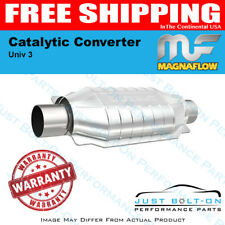 "Magnaflow Catalytic Converter Univ 3"" Not CA CARB Legal  - #94009"