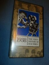 1938 VHS Tape Documentary The Video History Of Our Times Easton Press Universal