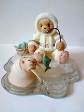 cherished teddies NANOOK LE Ice Fishing  You've Caught My Heart