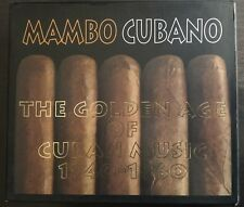 Mambo Cubano - The Golden Age Of Cuban Music 1940-1960 Box 2XCD mint