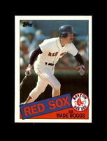 1985 Topps Baseball #350 Wade Boggs (Red Sox) NM-MT