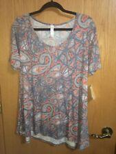 Lularoe Medium M Perfect T Paisley T Shirt Like Material