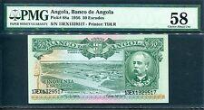 Angola 1956, 50 Escudos, P88a, PMG 58 AUNC