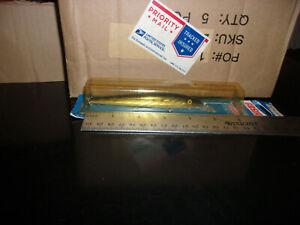 "Vintage Rebel Fastrac Minnow Salmon Steelhead nos 4.5"" gold chrome black"