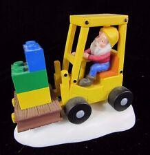 Dept 56 Lego Brick Lift Orig Box North Pole Series 56.56809 Retired 2003