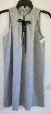 MTA Sport Ladies GREY Size SMALL Sports dress w lace-up accent NEW W TAGS!