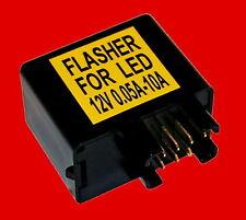 LED Blinkrelais Suzuki 7-polig Blinkgeber Blinker Blinkerrelais Kellermann 12 V