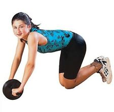 AB WHEEL Budget Home Gym Resistance Tone Core Exercise Workout ANY Floor 8532