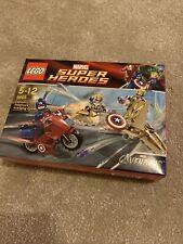 Lego Marvel Super Heroes Capitán América justiciera ciclo - 6865-Nuevo Sellado