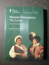 MUSEUM MASTERPIECES: THE LOUVRE - The Great Courses  Book & 2 DVD Sealed Set
