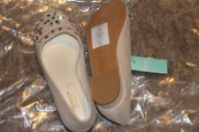 Monsoon Girls Suede Jewelled Party Shoes - UK 1 (EU33) NEW