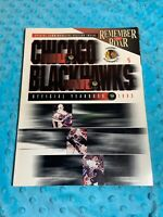 1993 Chicago Blackhawks Official Yearbook, Special Commemorative Section