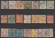 TURKEY 1865-75 OTTOMAN PO's BULGARIA POSTMARK FILIBE KAZANLAK STAMP COLLECTION