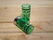 CASTELLAN 12 Gauge Shot Glass 20ml - GREEN - SILVER.6pcs.