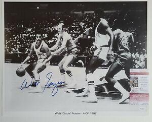 HOF Walt Frazier Signed Auto 16x20 Photo Autographed JSA COA New York Knicks