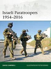 Israeli Paratroopers 1954–2016 (Elite), Campbell, David, Like New, Paperback