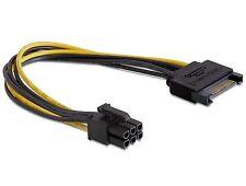 DELOCK cable cable de alimentación Power SATA 15 pin > 6 pin PCI Express 82924