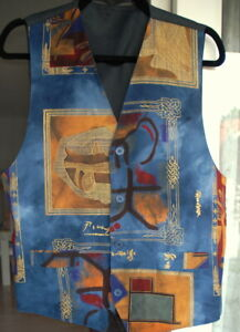 Herren Weste Herrenweste Dünnen Pullover Pulli Jacke Hemd 52 / Large