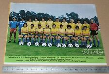 CLIPPING POSTER FOOTBALL 1980-1981 D2 FC GUEUGNON FORGERONS