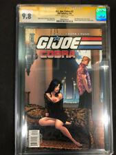 G.I. Joe Cobra #2 IDW 2009 CGC SS 9.8 Signed by Howard Chaykin